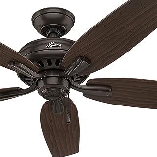 Hunter Fan 52 inch Ceiling Fan in Premier Bronze with 5 Dark Walnut Reversible Blades (Renewed)