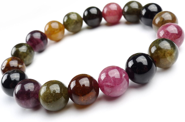 Natural Genuine Tourmaline Gemstone 11mm Healing B Round Crystal At the price of free surprise