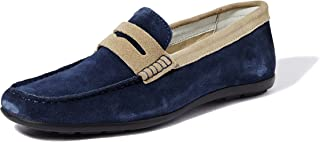 Amazon Brand - Symbol Men's Leather Casual Loafers