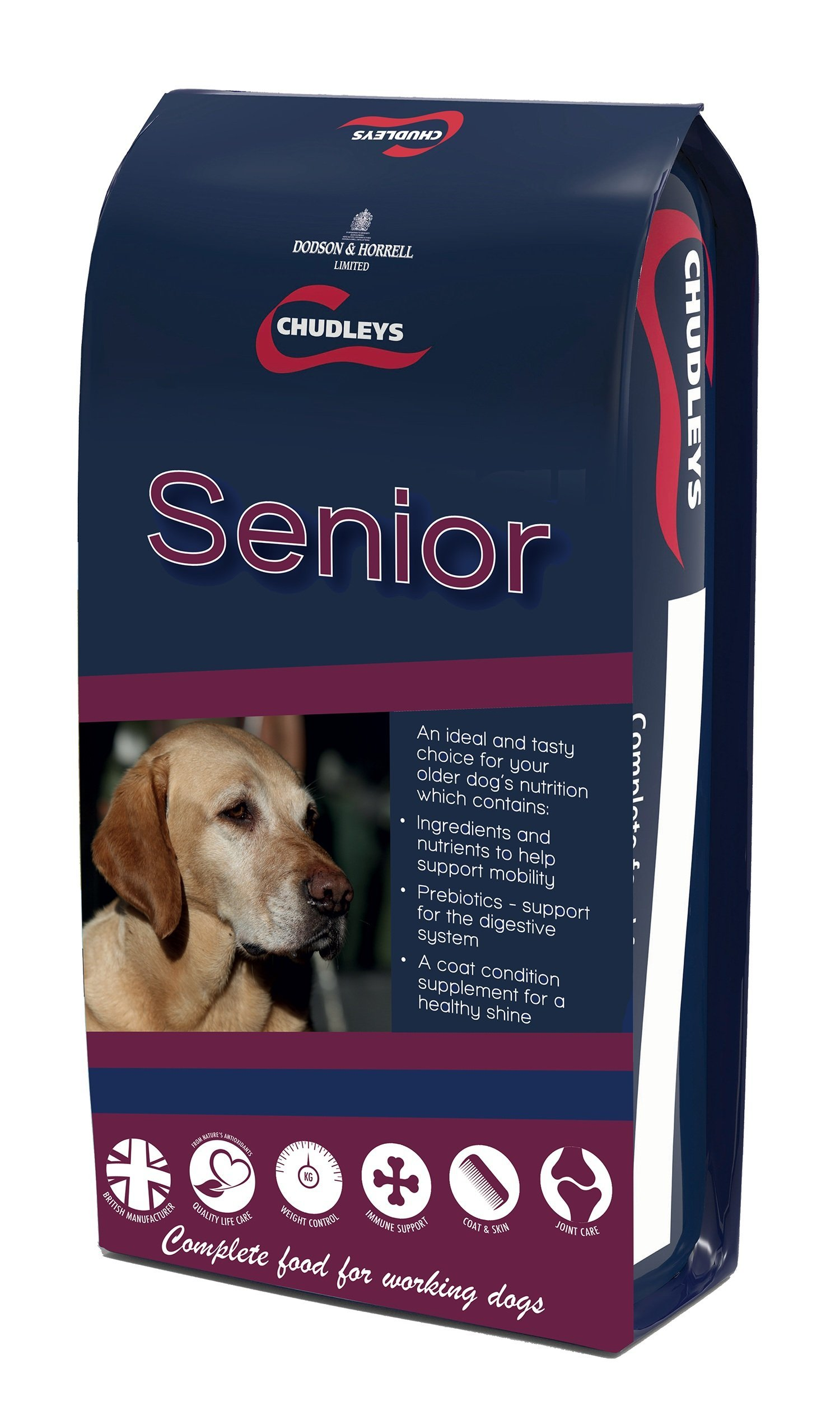 Chudleys Senior Dry Dog Food With Chicken Oats Rice And