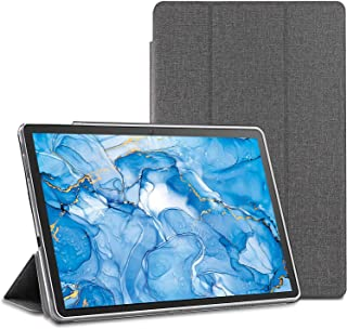 Dragon Touch タブレット 10.1インチ ケース【LASTE】NotePad 102 ケース Dragon Touch NotePad 102 ケース 薄型 キズ防止 軽量 タブレット カバー 全面保護 角度調整 グレー タブレット...
