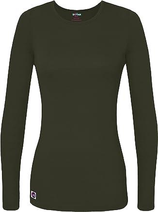 Sivvan Women's Comfort Long Sleeve T-Shirt/Underscrub Tee