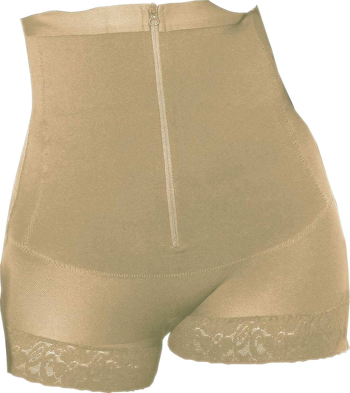 Body Shaper Panty Thermal Zipper Plus Shapewear Faja Bodysuit Nude