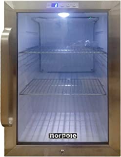 Norpole NPCM25SB Magic Chef 2.5 cu ft Countertop Merchandiser, Black