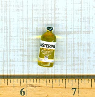 Dollhouse Miniature Size Lavoris Mouth Wash Bottle