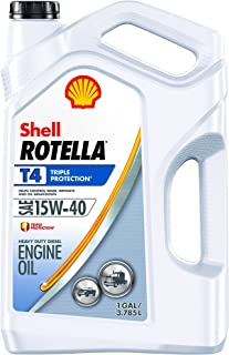 Rotella T4 Triple Protection Diesel Oil, 15W-40 (CK-4),