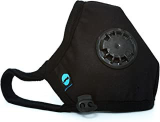 Cambridge Mask Company Basic N95 Washable Anti Pollution Respirator with Adjustable Straps Black