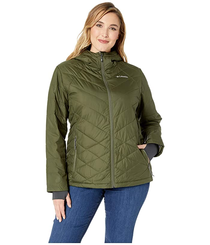 Columbia Plus Size Heavenly Hooded Jacket (Nori) Women