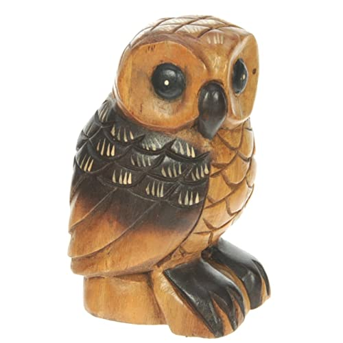 Carved wooden animals amazon
