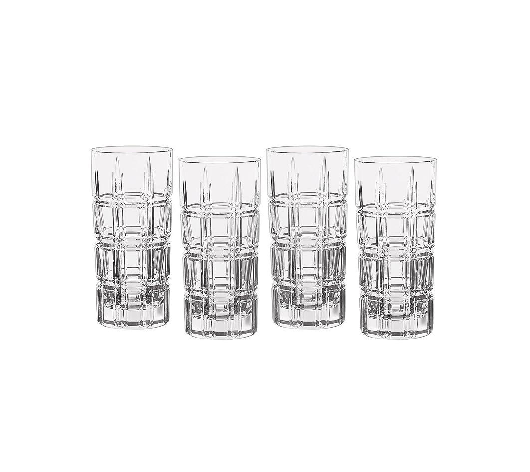 フェザースクリューかけがえのないMarquis by Waterford Crosby Plaidのセット4?Highball Glasses One Size 40007132