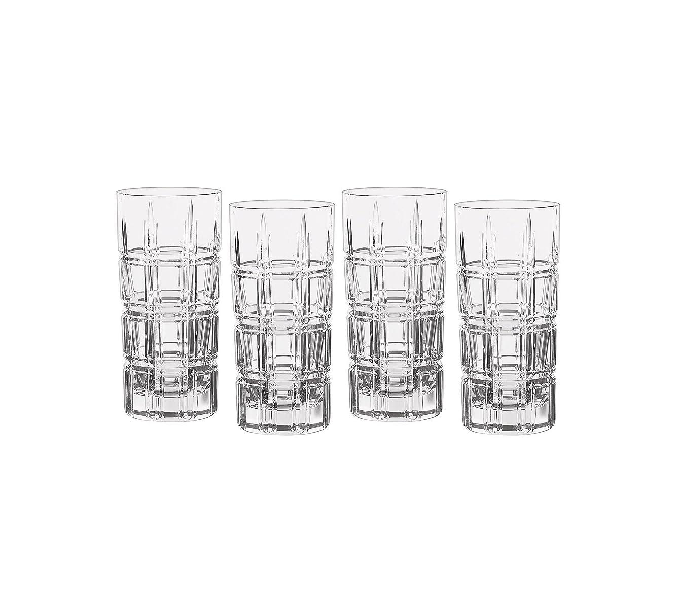 現象リンステロMarquis by Waterford Crosby Plaidのセット4?Highball Glasses One Size 40007132