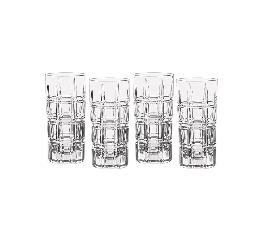 代わって手荷物あらゆる種類のMarquis by Waterford Crosby Plaidのセット4?Highball Glasses One Size 40007132