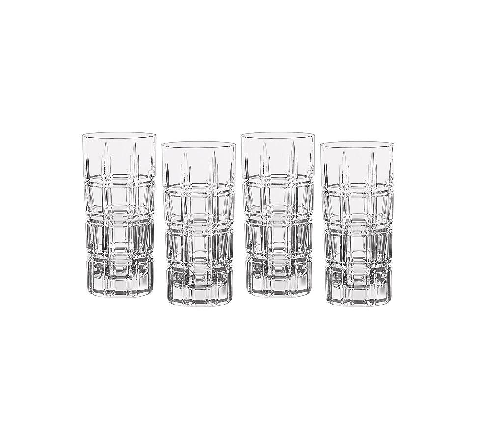 ライオネルグリーンストリートのため推進、動かすMarquis by Waterford Crosby Plaidのセット4?Highball Glasses One Size 40007132