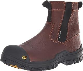 Caterpillar Men's Throttle Composite Toe Waterproof Construction Boot