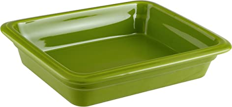 Paderno World Cuisine 44315G06 Induction Porcelain Hotel Pan Small Green