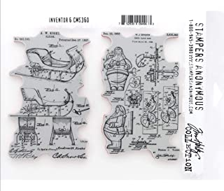 Tim Holtz Stamper's Anonymous Cling Stamps, Inventor 6