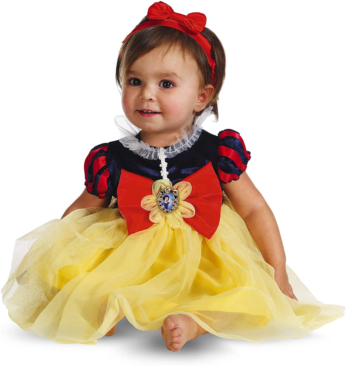 Disguise My First Sale Special Price Disney Snow White Yellow Red Blue Costume Quantity limited 12