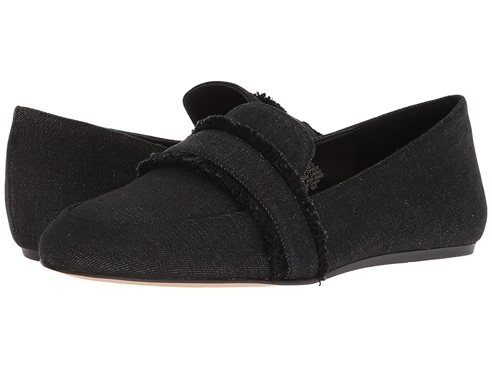 Nine West Baruti Loafer (Black Cool Denim) Women