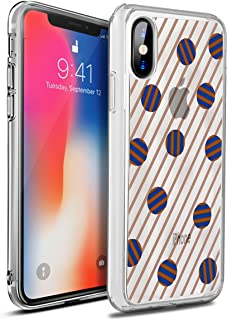 OtterBox SYMMETRY CLEAR SERIES Case for iPhone X (ONLY) - Retail Packaging - Dot the Line