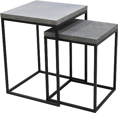 Better & Best 3221060 Table d'appoint, métal, Standard