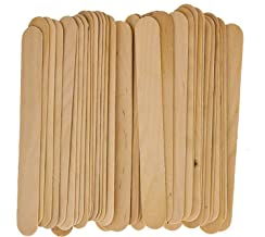 100 Large Wax Waxing Wood Body Hair Removal Sticks Applicator Spatula