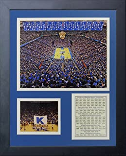 Legends Never Die Kentucky Wildcats Rupp Arena Collage Photo Frame, 11