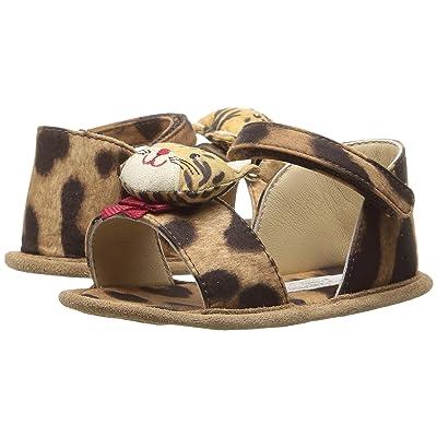 Dolce & Gabbana Kids Zambia Sandal (Infant/Toddler) (Leopard) Girls Shoes