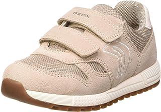 Geox B Alben Girl A, Zapatillas Bebé-Niñas