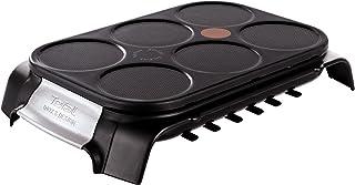 comprar comparacion Tefal Crep Party Inox & Design PY558813 - Crepera de Acero Inoxidable y Revestimiento Antiadherente con Capacidad para 6 T...