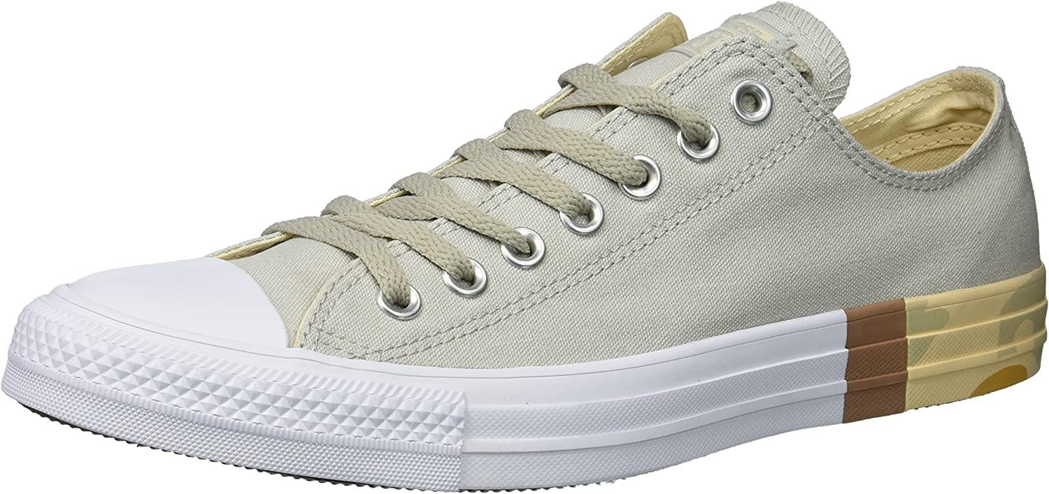 Converse Men's Chuck Taylor All Star Tri-Block Midsole Low Top Sneaker