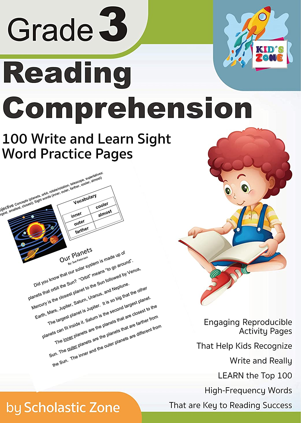 マスタード発生器バンクReading Comprehension Grade 3, 100 Write-and-Learn Sight Word Practice Pages: Engaging Reproducible Activity Pages That Help Kids Recognize, 100 High-Frequency ... (Home Workbooks Book 2) (English Edition)