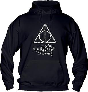 I Doni della Morte Harry Potter Cinema Divertenti Humor Made in Italy T-Shirt Bambino Ragazzo Cotone Basic Super vestibilit/à Top qualit/à