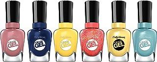 Sally Hansen Miracle Gel Summer Bright Shades Nail Polish Set, .5 Oz, Variety Pack