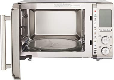 Breville BMO850BSS1BUC1 the Smooth Wave countertop microwave oven, Brushed Stainless Steel