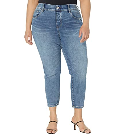 Jag Jeans Plus Size Valentina High-Rise Pull-On Skinny Crop Jeans