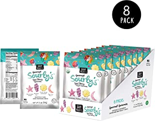 Project 7 Organic Gourmet Gummies | Non-GMO & Gluten Free Candy | (Sourly's, 2 Ounce (Pack of 8))