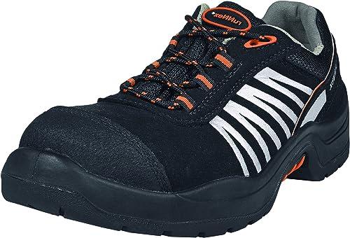 RuNNex 5205-39 Chaussures de sécurité TeamStar  S2 Taille Taille 39 noir argent Orange