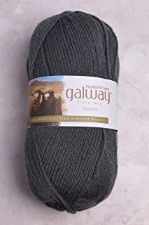 Plymouth Yarn - Galway Worsted - Charcoal 203
