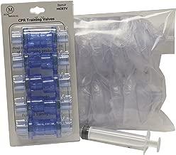 MCR Medical Pack of 10 Training CPR Masks, Refillable-Infant w Valves, MCRTM-IR