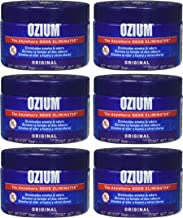 Ozium 806326 Large Gel 8oz Smoke & Odors Eliminator (Pack of 6)