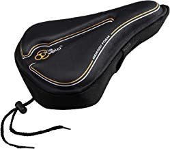 Via Velo Bike Seat Cover Comfortable Memory Bicycle Saddle Cover for Women Men Everyone, Fits Spin Class, MTB and City Bik...