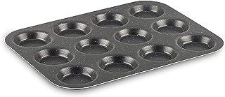Tefal Perfectbake Plaque Mini-Gâteaux 12 Trous 30x23 cm, Aluminium 100% Recyclé J5542802