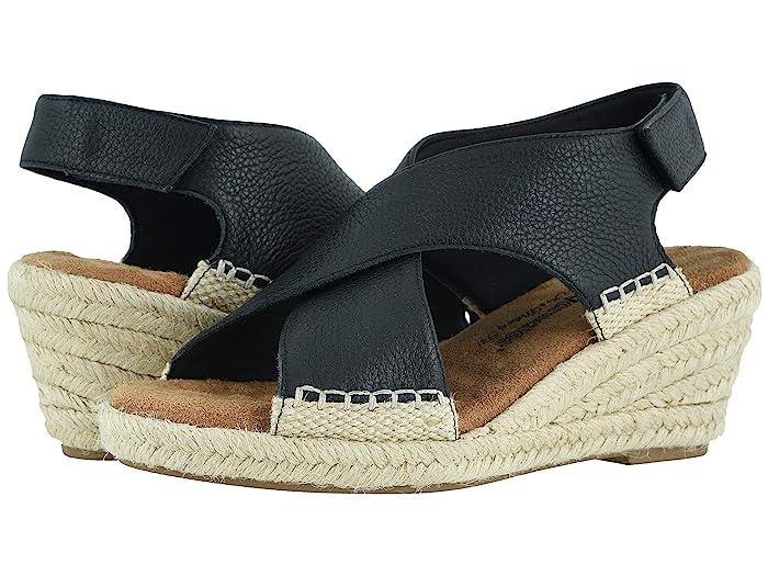 Walking Cradles  Addison (Black Soft Tumbled Leather) Womens  Shoes