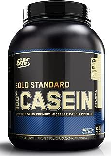 OPTIMUM NUTRITION GOLD STANDARD 100% Casein Protein Powder, Creamy Vanilla, 4 Pound