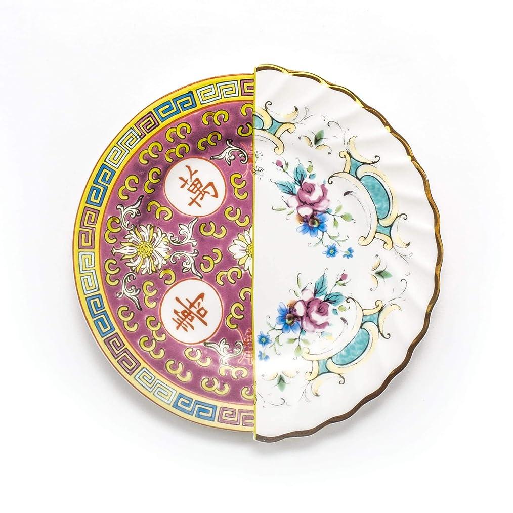 帝国サラミ依存SELETTI (セレッティ) Hybridプレート20cmEUDOSSIA マルチカラー W20×D20.2×H1.4cm キッチン 食卓 食器 おしゃれ かわいい 海外風 欧米風 124159