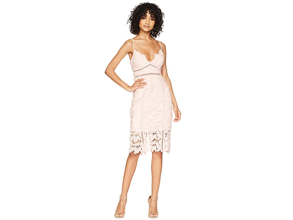 Bardot Botanica Lace Dress (Melon) Women
