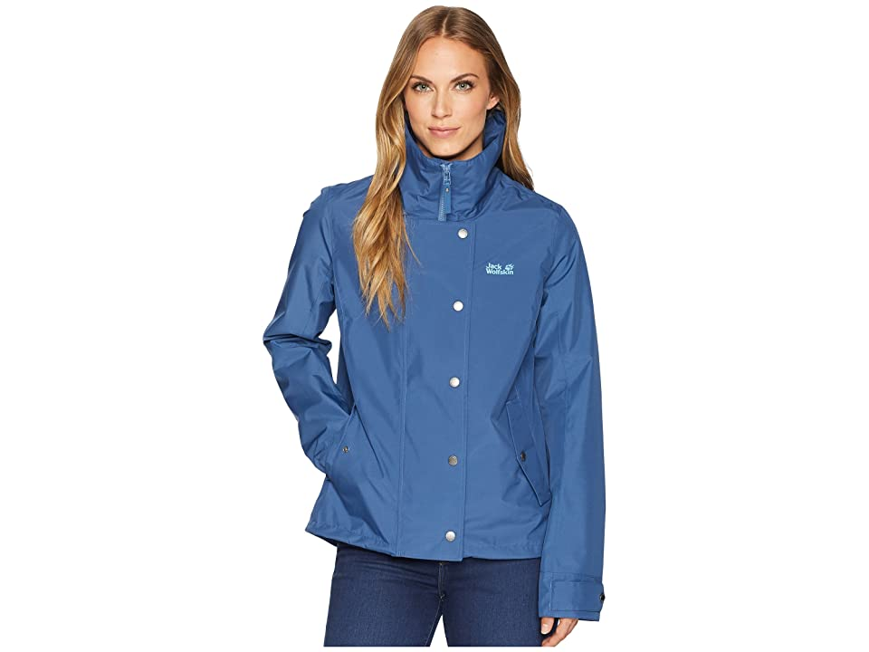 Jack Wolfskin Newport Jacket (Ocean Wave) Women