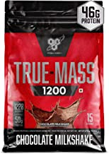 Sponsored Ad - BSN TRUE-MASS Weight Gainer, Muscle Mass Gainer Protein Powder, Chocolate Milkshake, 10.38 Pound