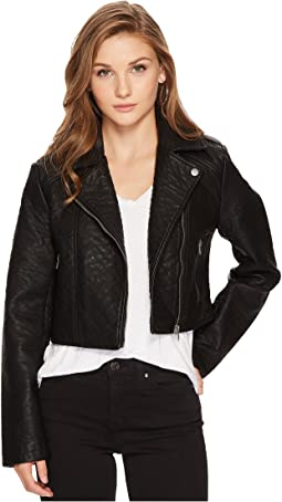 Jack by BB Dakota - Devi Washed Vegan Leather Moto Jacket