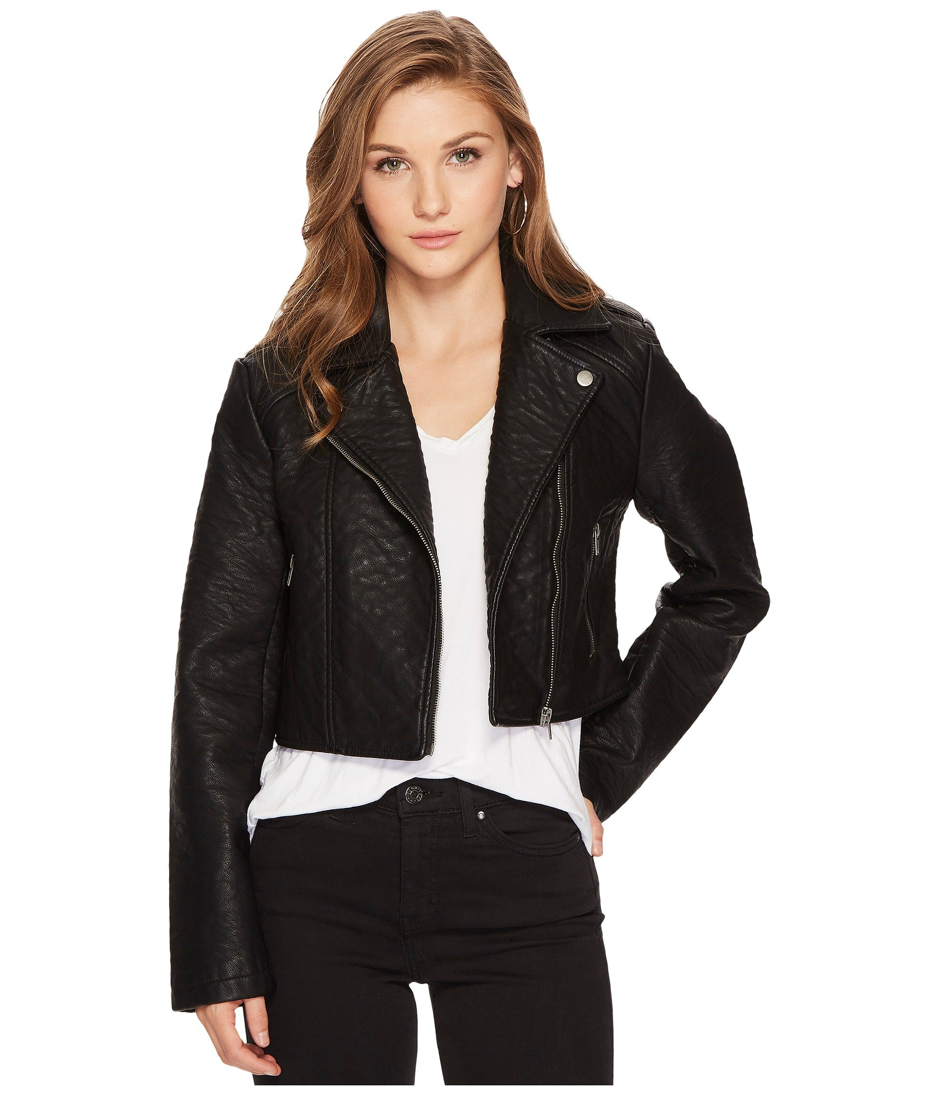 Black Leather Jacket, Black | Shipped Free at Zappos